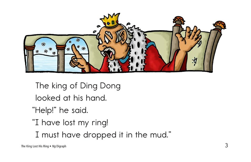 Book Preview For The King Lost His Ring Page 3