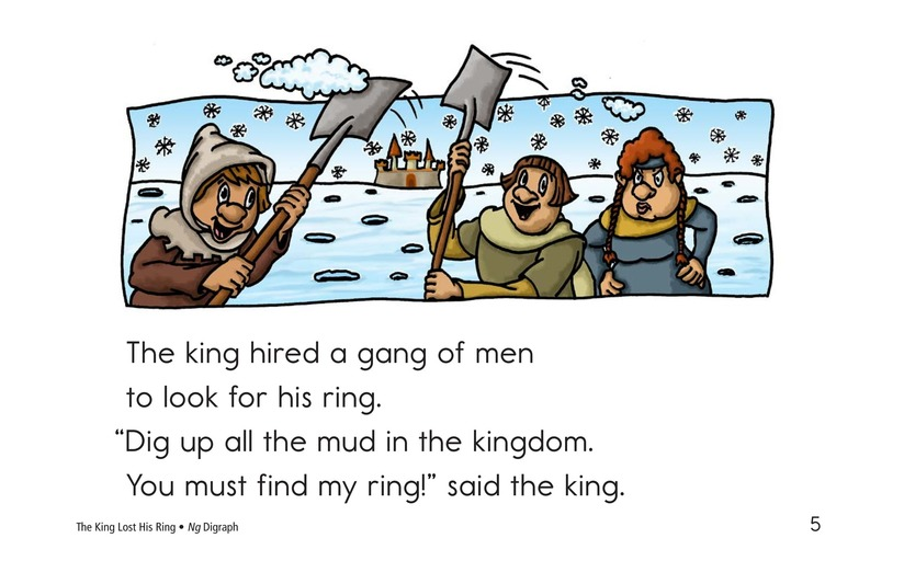 Book Preview For The King Lost His Ring Page 5