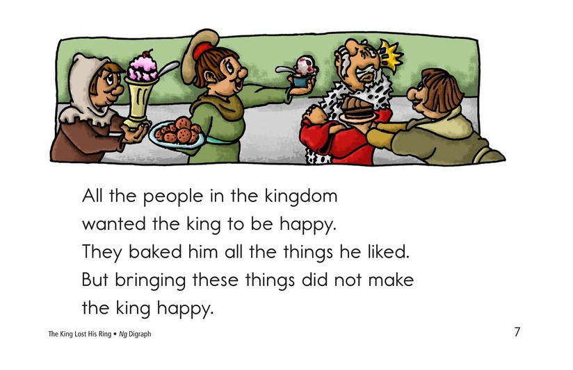 Book Preview For The King Lost His Ring Page 7