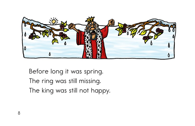 Book Preview For The King Lost His Ring Page 8