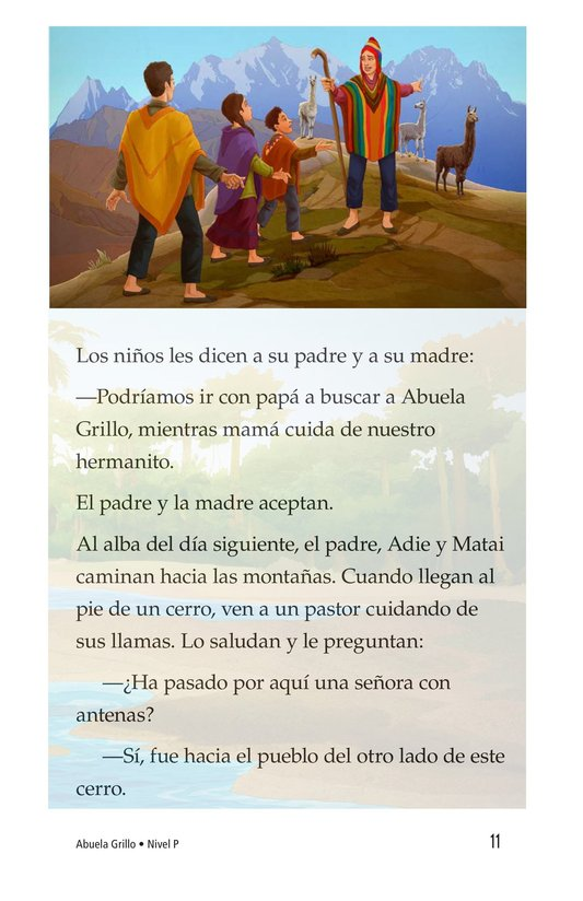 Book Preview For Abuela grillo Page 11