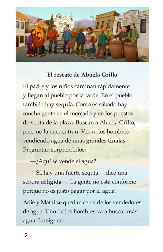 Book Preview For Abuela grillo Page 12