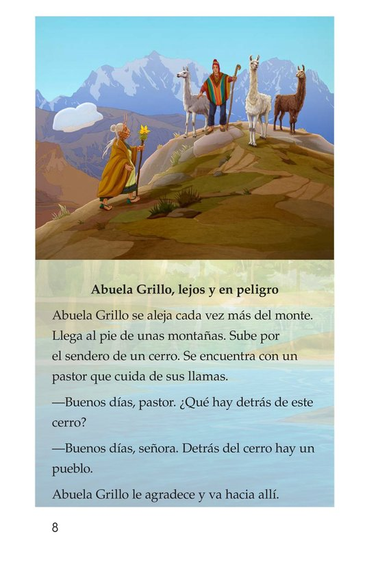Book Preview For Abuela grillo Page 8