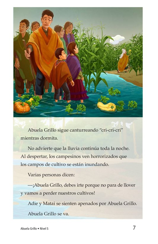 Book Preview For Abuela grillo Page 7