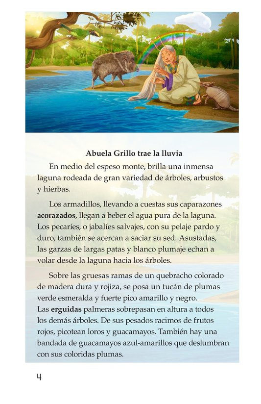 Book Preview For Abuela grillo Page 4