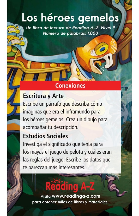 Book Preview For Los héroes gemelos Page 17