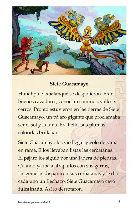 Book Preview For Los héroes gemelos Page 9