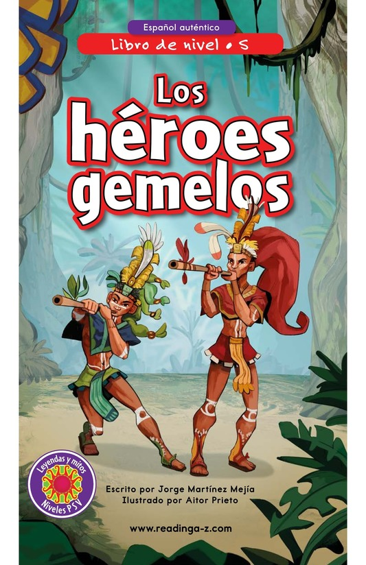Book Preview For Los héroes gemelos Page 0
