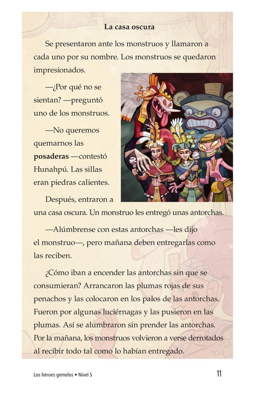 Book Preview For Los héroes gemelos Page 11