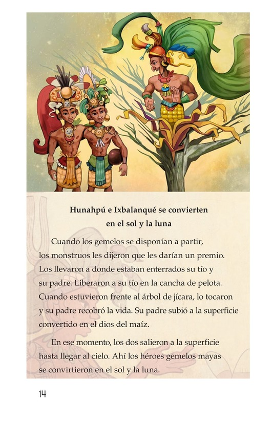 Book Preview For Los héroes gemelos Page 14