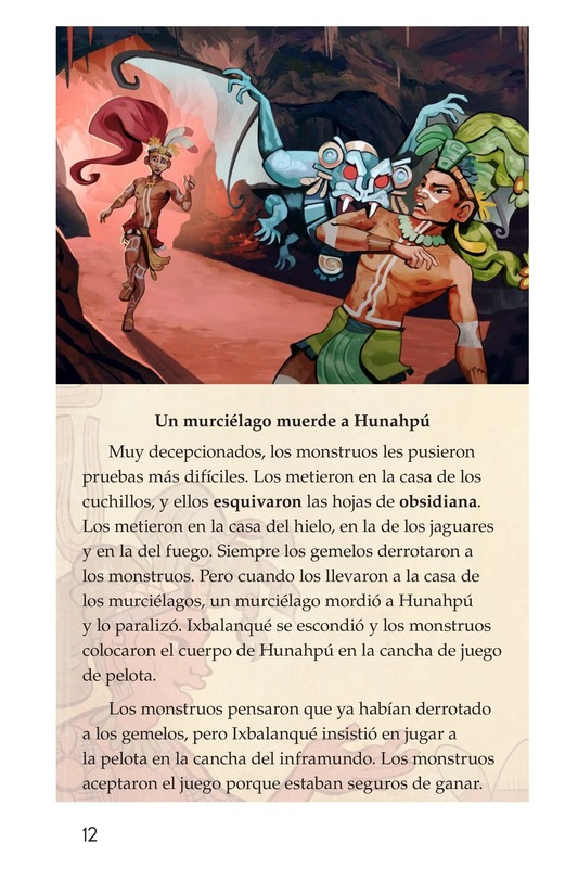 Book Preview For Los héroes gemelos Page 12