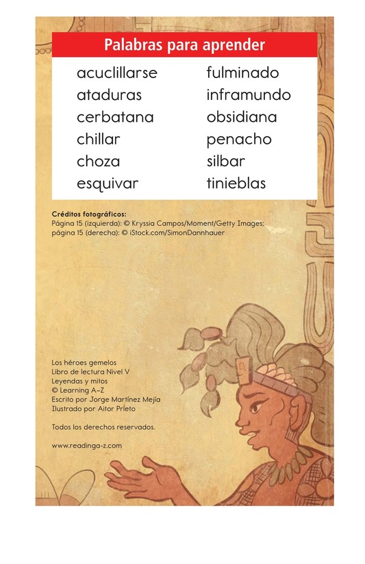Book Preview For Los héroes gemelos Page 2