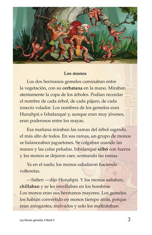 Book Preview For Los héroes gemelos Page 3