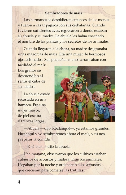 Book Preview For Los héroes gemelos Page 4