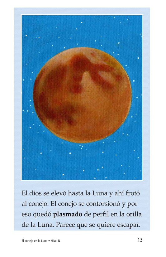 Book Preview For El conejo en la luna Page 13