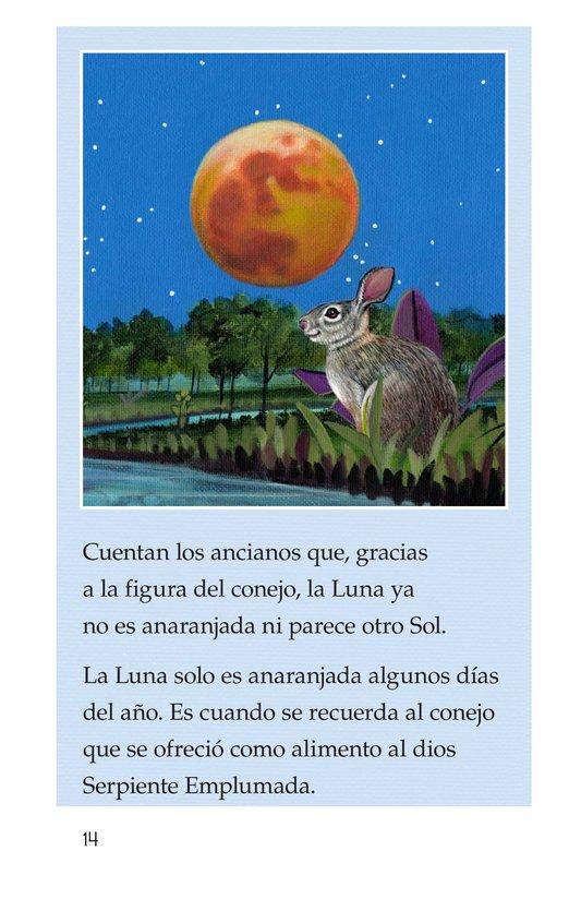 Book Preview For El conejo en la luna Page 14