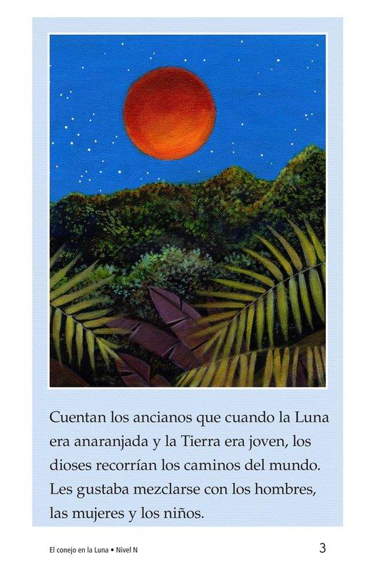 Book Preview For El conejo en la luna Page 3
