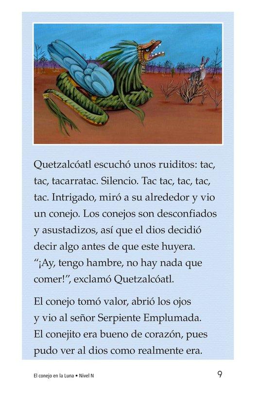 Book Preview For El conejo en la luna Page 9