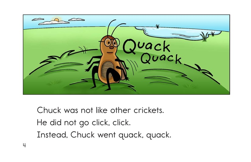 Book Preview For Click, Cluck, and Quack Page 4