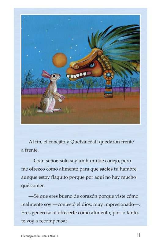 Book Preview For El conejo en la luna Page 11