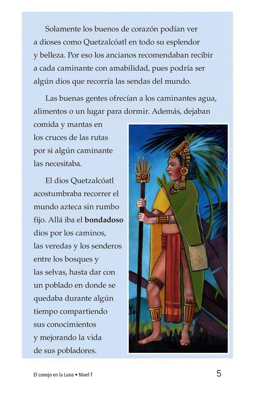 Book Preview For El conejo en la luna Page 5