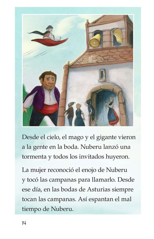 Book Preview For Nuberu, el mago atmosférico Page 14