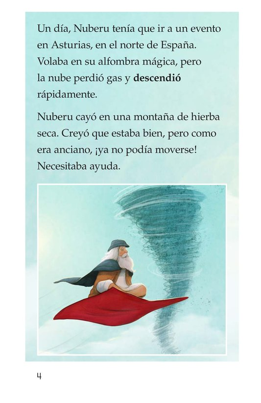 Book Preview For Nuberu, el mago atmosférico Page 4