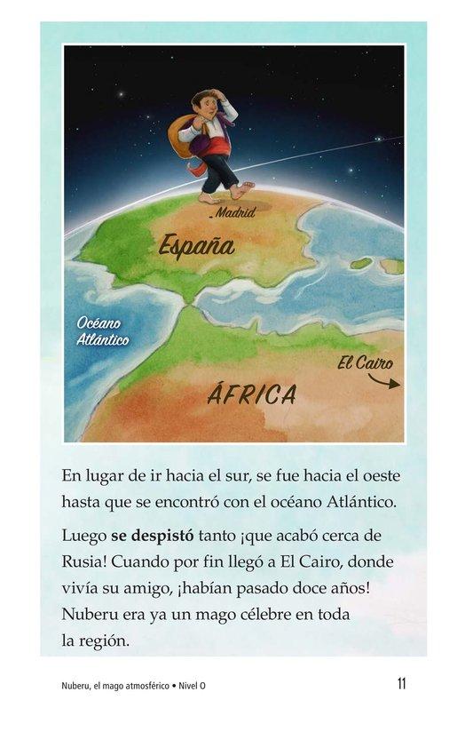 Book Preview For Nuberu, el mago atmosférico Page 11