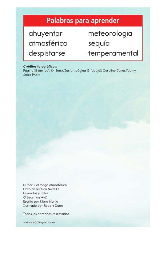 Book Preview For Nuberu, el mago atmosférico Page 2
