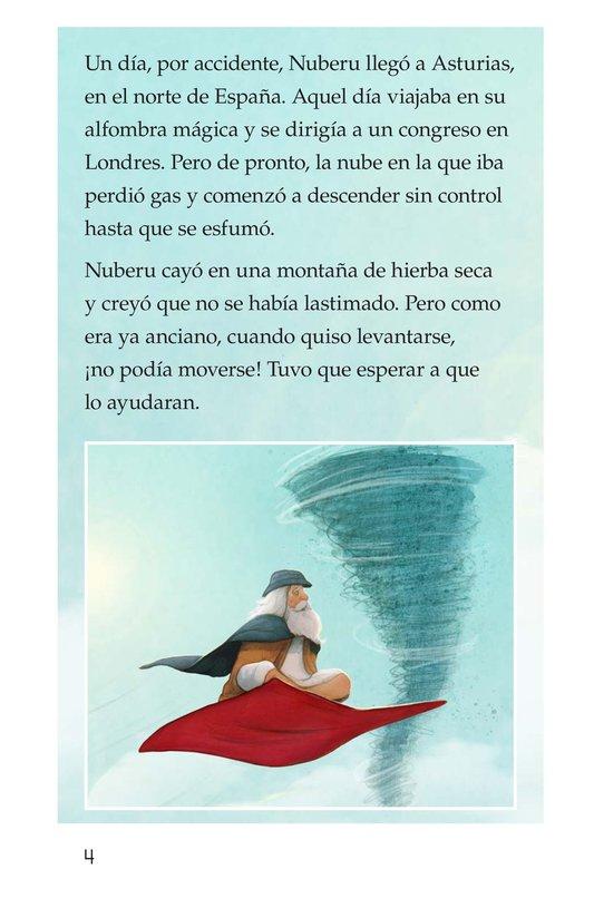 Book Preview For Nuberu, el mago atmosférico Page 4