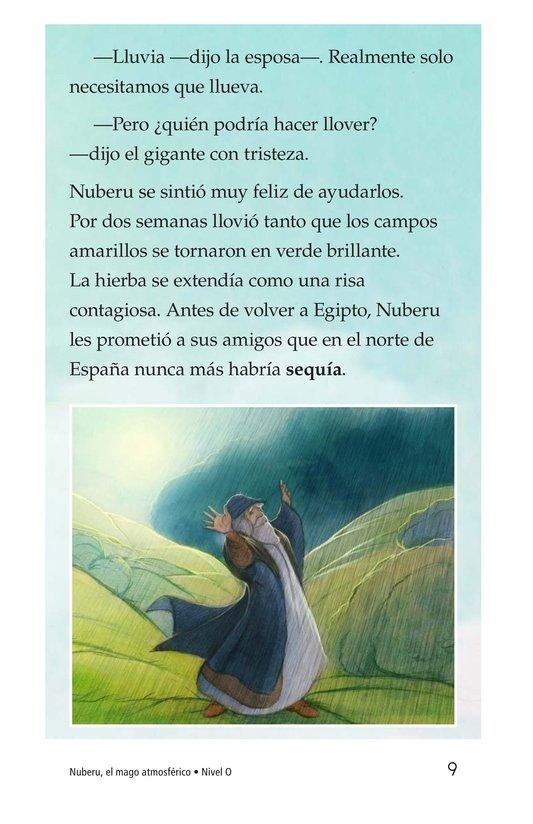 Book Preview For Nuberu, el mago atmosférico Page 9