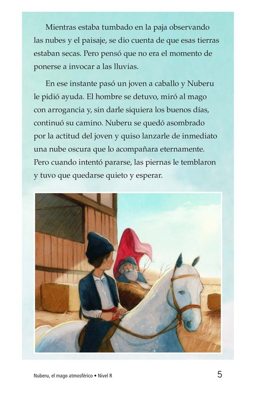 Book Preview For Nuberu, el mago atmosférico Page 5