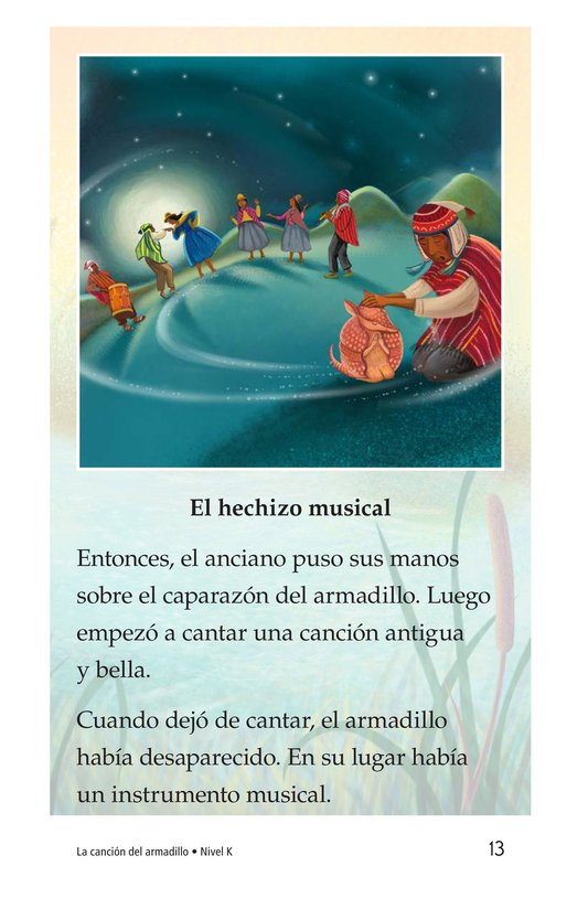 Book Preview For La canción del armadillo Page 13