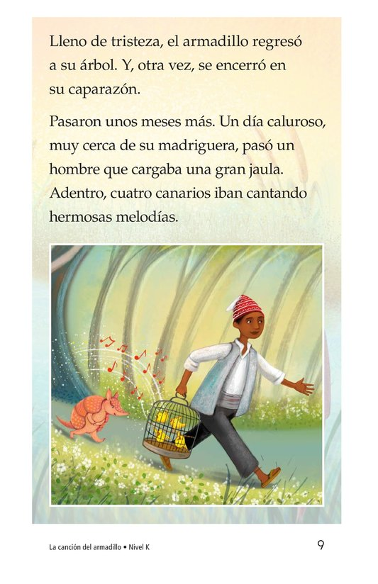 Book Preview For La canción del armadillo Page 9