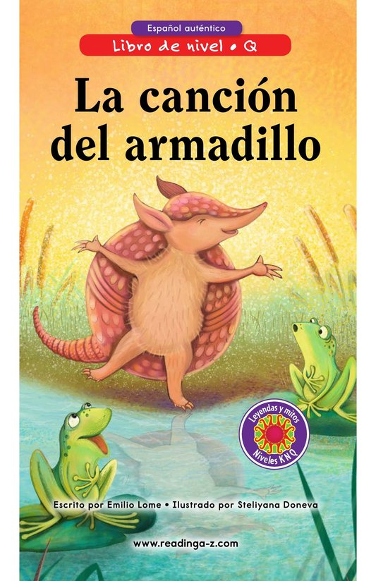 Book Preview For La canción del armadillo Page 0