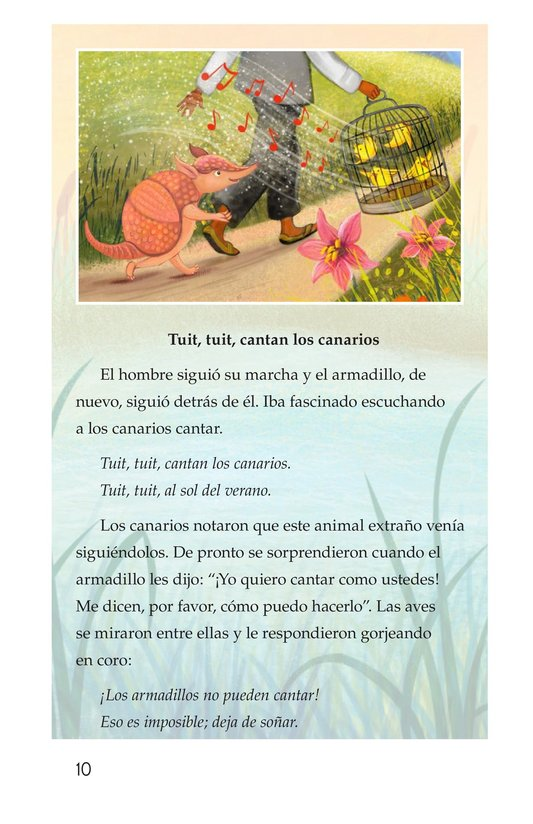 Book Preview For La canción del armadillo Page 10