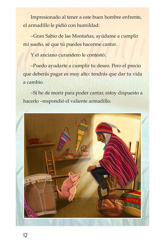 Book Preview For La canción del armadillo Page 12