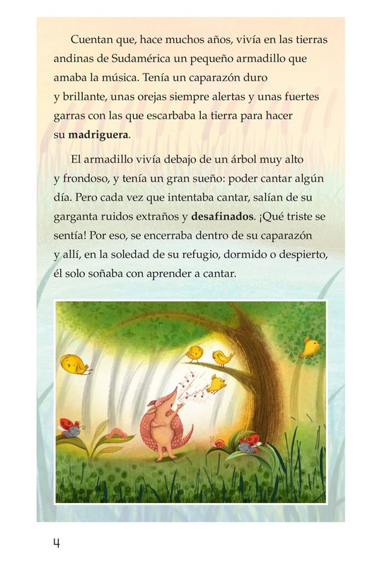 Book Preview For La canción del armadillo Page 4