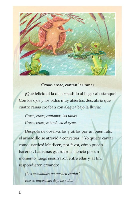 Book Preview For La canción del armadillo Page 6