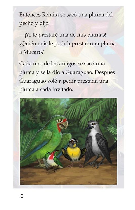 Book Preview For El plumaje del múcaro Page 10