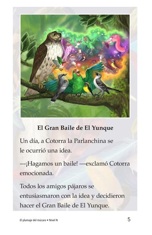 Book Preview For El plumaje del múcaro Page 5