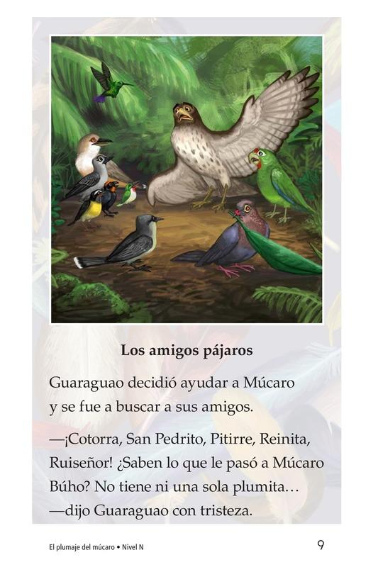 Book Preview For El plumaje del múcaro Page 9