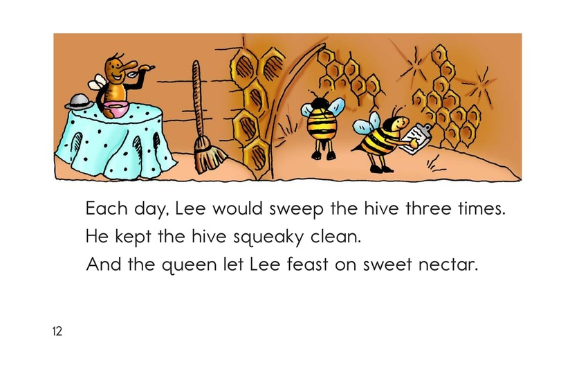 Book Preview For The Bee and the Flea Page 12