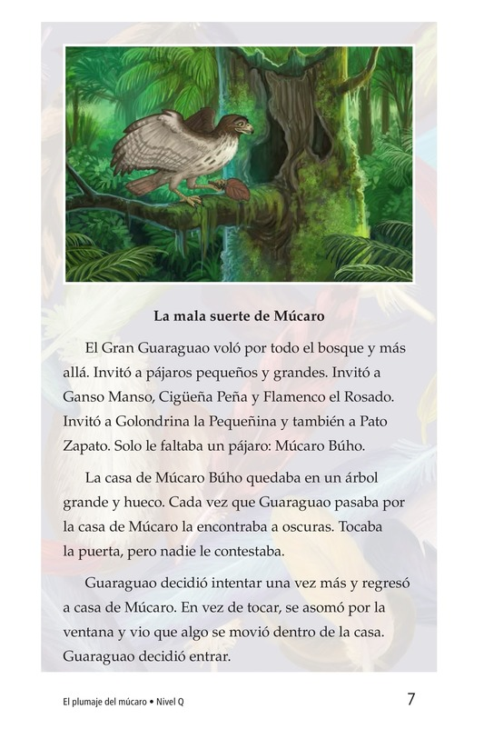 Book Preview For El plumaje del múcaro Page 7