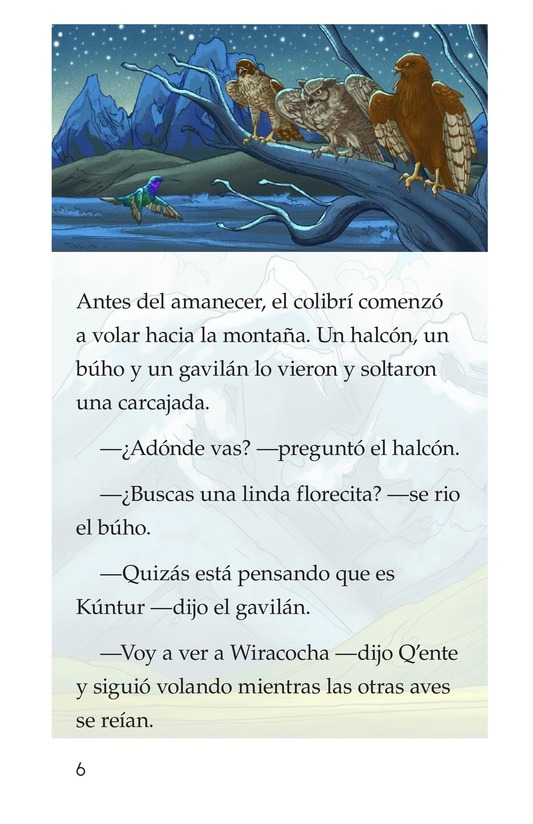Book Preview For El sueño del colibrí Page 6