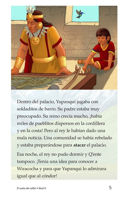 Book Preview For El sueño del colibrí Page 5