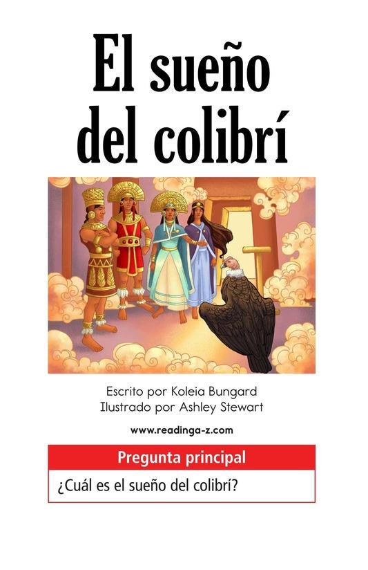 Book Preview For El sueño del colibrí Page 1