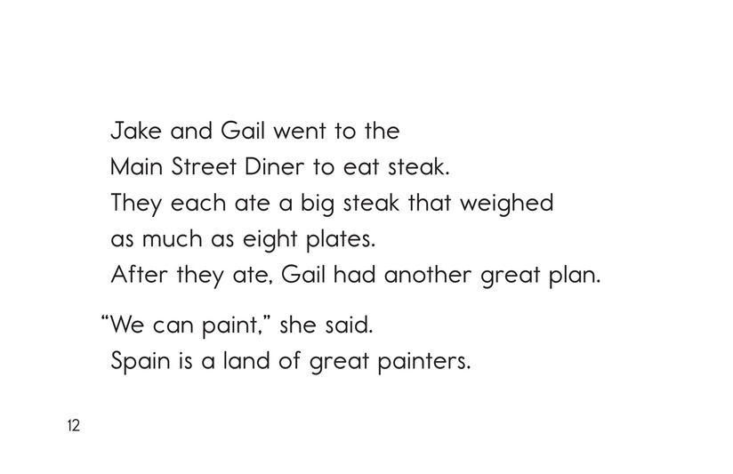 Book Preview For Jake and Gail Go to Spain Page 12