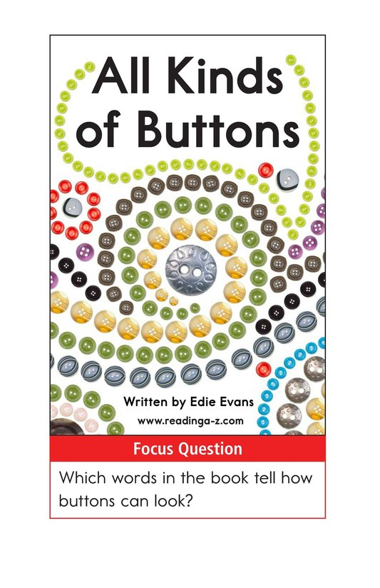 Book Preview For All Kinds of Buttons Page 1