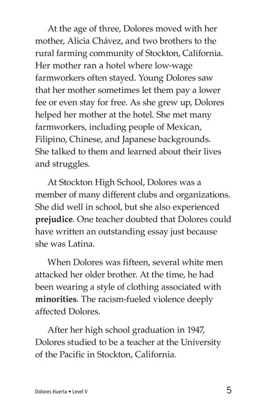 Book Preview For Dolores Huerta Page 5